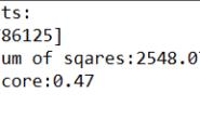 Python中做线性回归分析