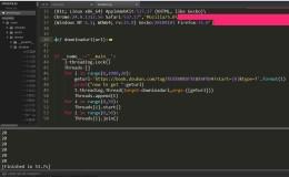 Python爬豆瓣小说首页的图片(多线程版)