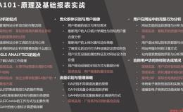 GA101-原理及基础报表实战