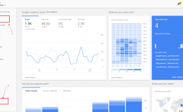 Google Analytics中的Home:快速了解你的数据