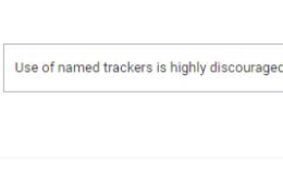 小心使用Google Tag Manager中的跟踪器
