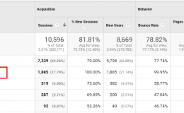 你的Google Analytics中有language为c的流量吗