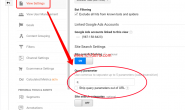 Google Analytics中设置站内搜索