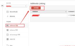 Google Analytics和Adwords关联设置
