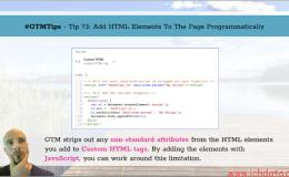 通过程序给页面添加html属性