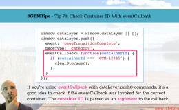 通过eventCallback检测容器id