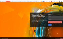 认识Adobe Experience Manager之一