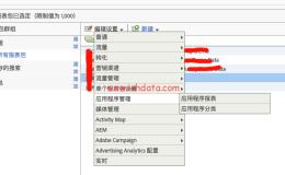 Adobe Analytics基础配置(7)——应用程序管理配置