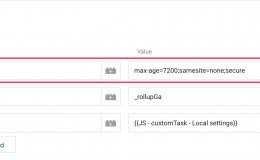 Google Analytics设置cookieFlags