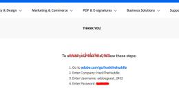 免费获取Adobe Analytics Demo账号