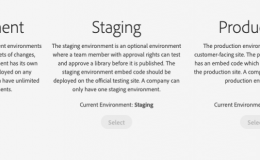 Adobe Launch中的Environment
