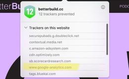 Safari浏览器要屏蔽Google Analytics?