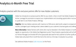 获取Adobe Analytics Demo账号的几种方法