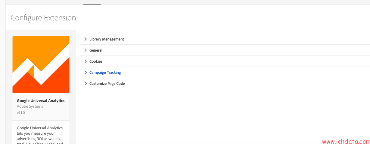 用Launch部署Google  Analytics