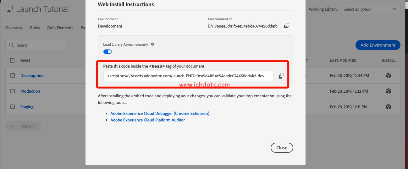 用Adobe Experience Cloud Debugger替换环境