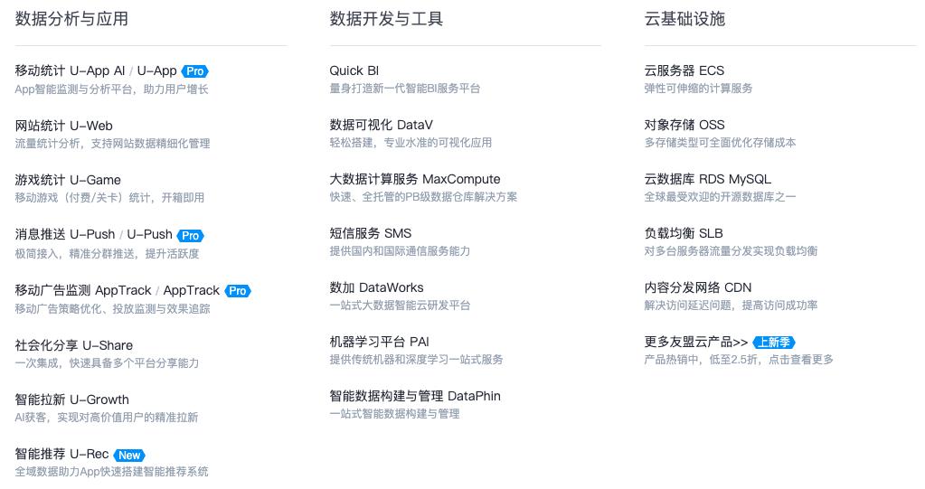 友盟+:全球领先的第三方全域数据服务商