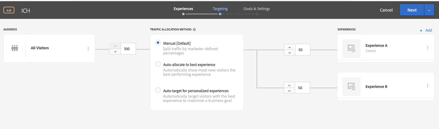 用Adobe Launch实施Adobe Target V2做AB测试