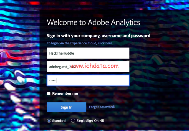 免费获取Adobe Analytics Demo账号