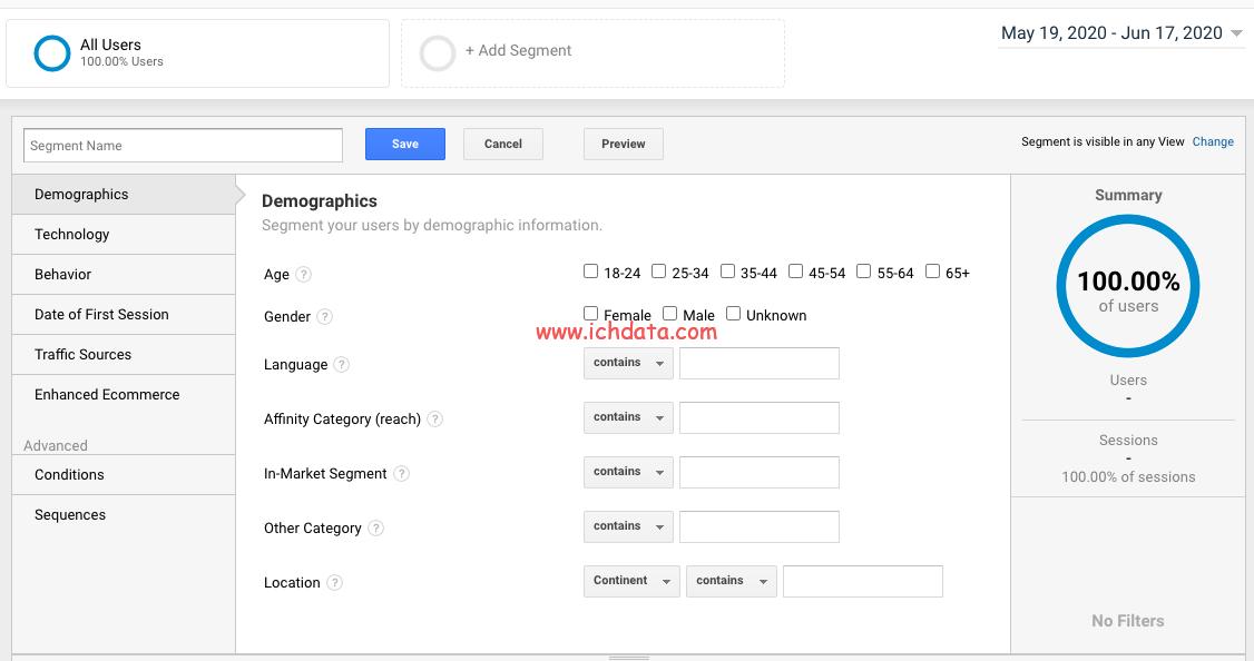 Adobe Analytics中创建区段Segments