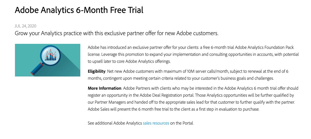 获取Adobe Analytics Demo账号的三种方法
