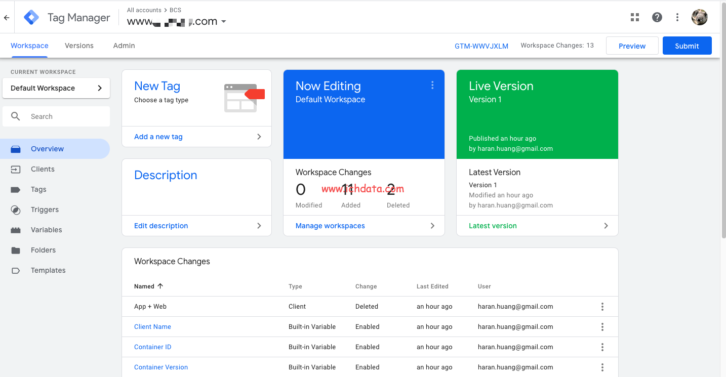 Google Tag Manager的服务端跟踪