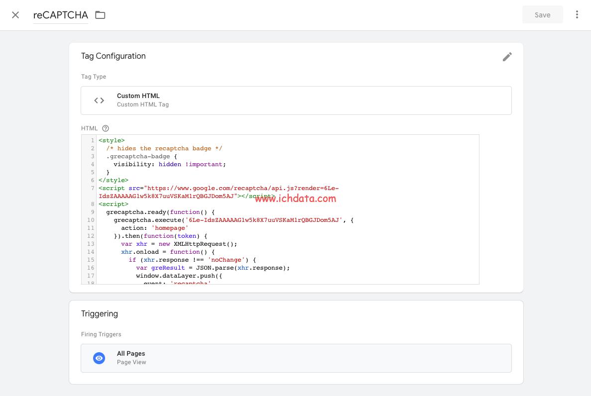 在Google Analytics中用reCAPTCHA识别机器流量